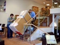 furniture-village-use-powered-stair-climber