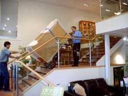 furniture-village-using-stair-climber