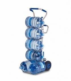 Stair climber lifting office water bottles - 170kg