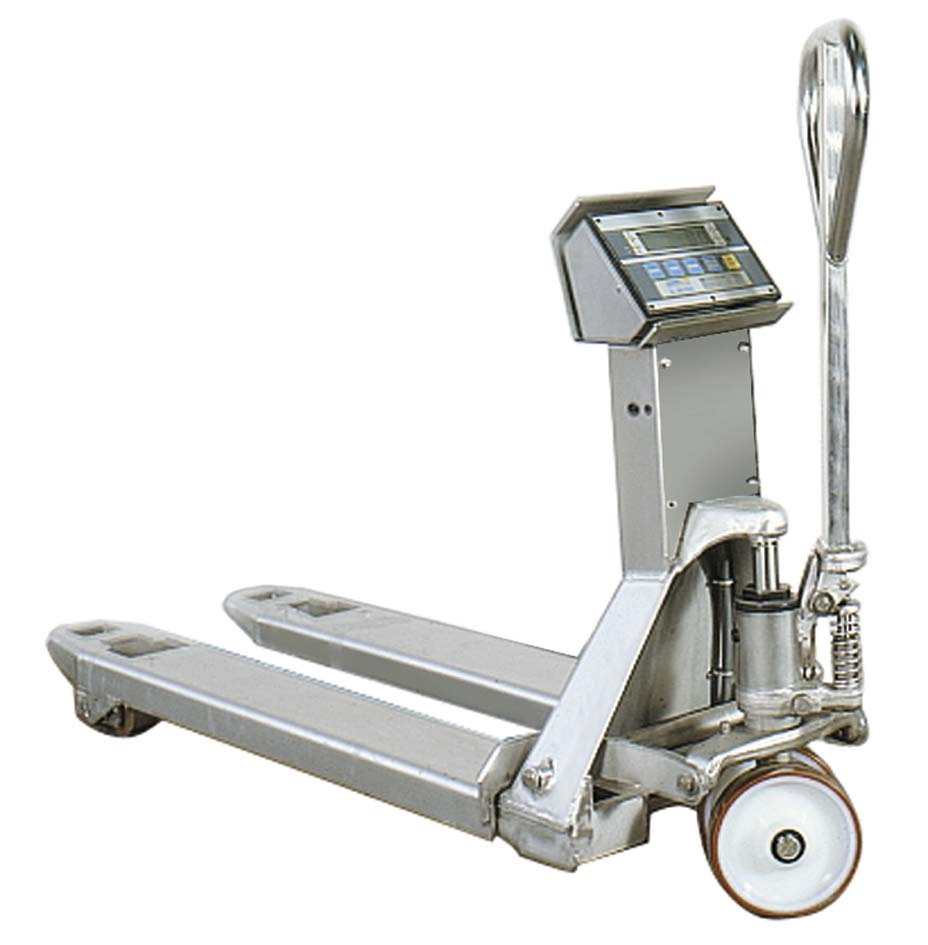 Tsx Stainless Weight Scale Pallet Truck